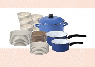 Crockery for 5 persons