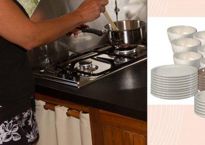 Saucepan diameter 18cm/16cm stainless steel