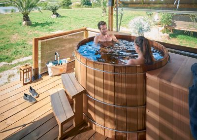 Baño nórdico eléctrico diámetro 150 cm (900 litros)